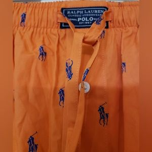 Polo by Ralph Lauren Pants - POLO RALPH LAUREN Allover Pony Pajama Pant S